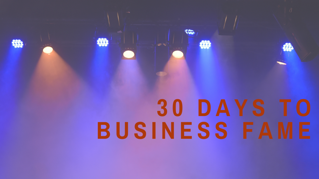 How to Become Your Industry's Leading Expert in 30 Days